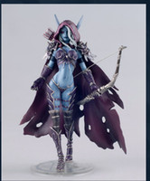 Wholesale WOW World of Warcraft Darkness Ranger Lady Sylvanas Windrunner quot PVC Action Figure