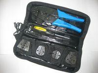 Wholesale 0 mm2 Crimping Tool Crimper Crimp Pliers Set with spare dies