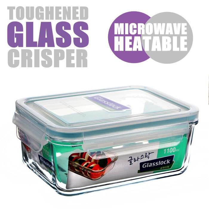 2017 1 1l Toughened Glass Lunch Loxes Preservation Box