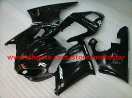 All black bodywork fairings kit for YZF R1 2000 2001 YZF-R1 00 01 YZFR1 1000 yzf1000 motorcycle fairing kit