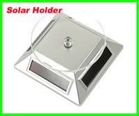 Wholesale Best price With Retail Package Solar Powered Rotating Display Stand Turn Table Plate