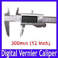 Wholesale mm All metal Digital Vernier Caliper Micrometer Guage Widescreen Electronic Accurately Measuring Stainless Steel