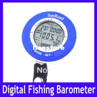 Wholesale EMS Digital LED Backlight Fishing Barometer Air Pressure Clock Thermometer Altimeter