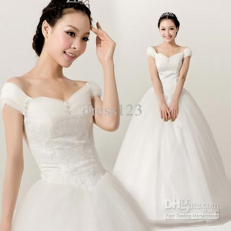 Non White Wedding Dresses Cap