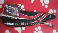 Wholesale Lining badminton racket racquet N90II carbon fibre pieces accept Credit car