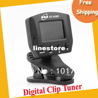 Wholesale Digital Clip Chromatic Guitar Bass Violin Tuner ET C MOQ