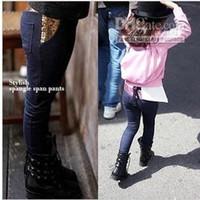 baby blue skinny jeans - Children jeans kids denim clothing girls sequins stretch jeans