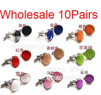 Wholesale Pairs Fashion Men s Luxury party wedding Cloth Metal Steel Stainless Cufflinks Cuff Links