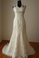 Real Photos bernadette wedding dress - 2012 Bernadette lace fishtail train Wedding Dresses wedding dress bridal gown HS010