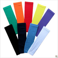 Wholesale 5pair Basketball Outdoor Sport Stretch Shooting Arm Sleeve Elbow Extended armband Men Gifts Fr