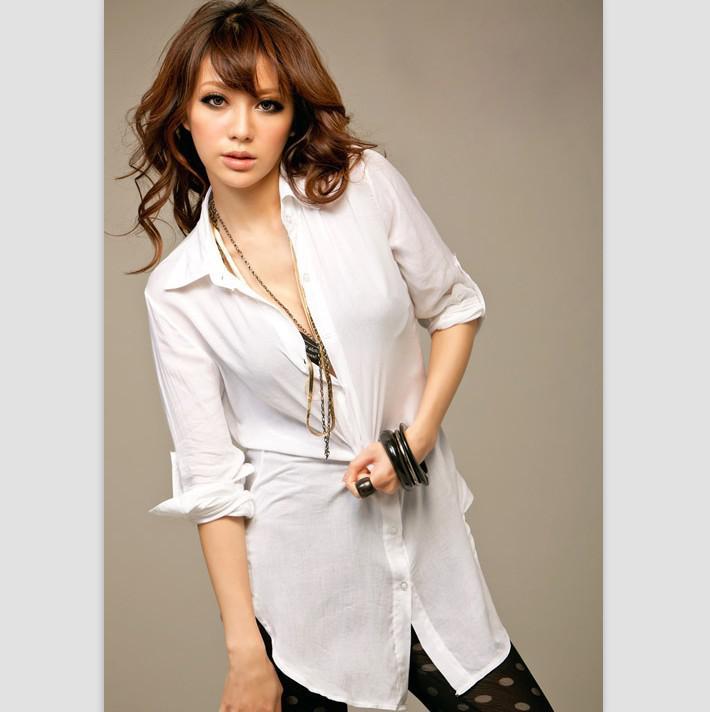 Купить Белую Блузку Для Офиса В Омске