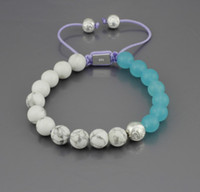 Wholesale New Shambhala jewelry Shambhala Bracelet gemstone Micro Pave CZ Disco Ball Bead NYB001