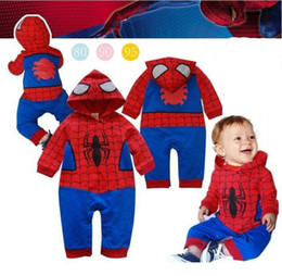 Wholesale 2013 BABY Fashion clothes Lovely spiderman modelling baby conjoined twins clothes