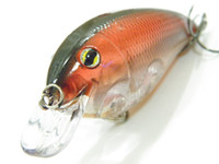 Wholesale Fishing Lure Crankbait Hard Bait Fresh Water Shallow Water Bass Minnow Fishing Tackle C56X53