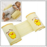 Oblong Kapok Cotton Baby Toddler Safe Cotton Anti Roll Pillow Sleep Head Positioner Anti-rollover