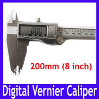 Wholesale 200mm digital vernier caliper in all metal MOQ