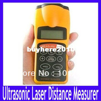 Wholesale Durable Ultrasonic Distance Measurer Area Volum Meter Laser Designator Laser Rangefin