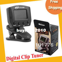 Wholesale EMS ET C Chromatic Digital clip tuner with color back light display
