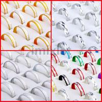 Unisex aluminum jewellery - Promotion Fashion Mixed Aluminum Lady s Rings Styles Rings Jewellery RA08 RA11