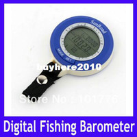 Wholesale EMS Mini LED Digital Fishing Barometer Waterproof Multi temp reels lure line fish find