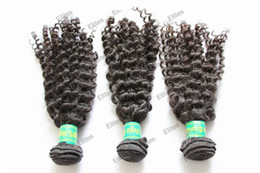 Wholesale MIx size Brazilian Virgin Hair Weft Extensions Remy Human Curly weave extension HWT101