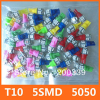 Wholesale pieces T10 SMD Bulbs LED Side Light W5W