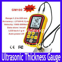 Wholesale Ultrasonic Thickness Gauge GM100 Measuring Range mm Steel MOQ