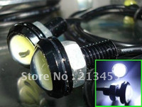Wholesale waterproof update W Ultrathin DIY LED Car Lights With screws Aluminum Silver housing use as Ba