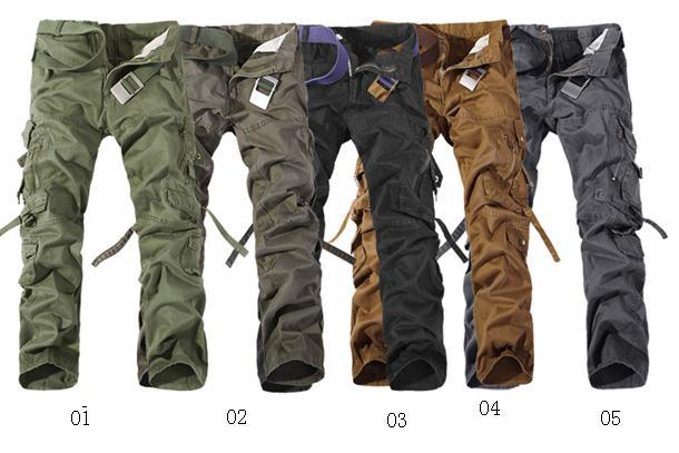 2017 Wholesale Hot Casual Military Army Work Pants Trousers Cargo ...