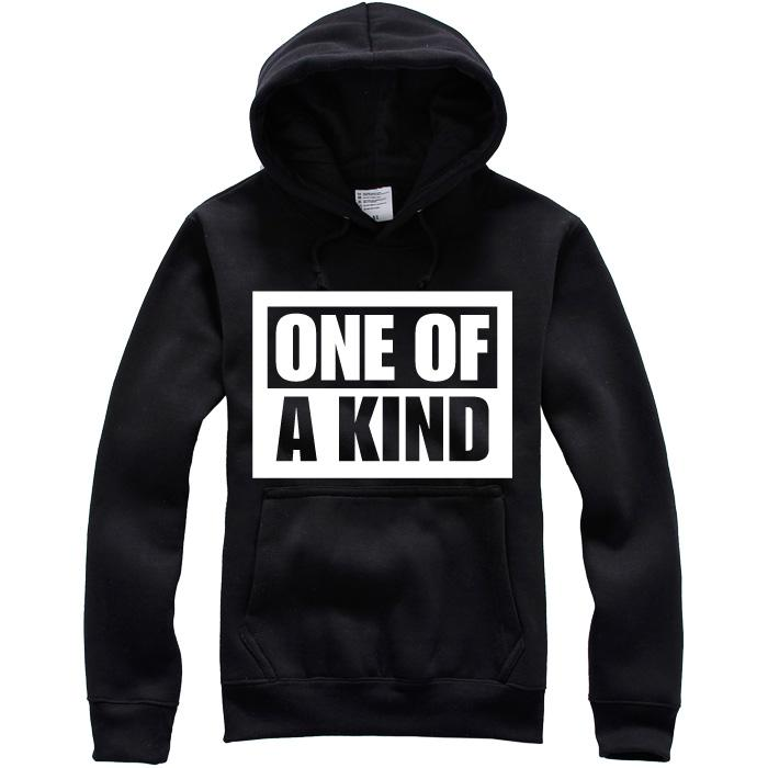 Unisex Black Sport Sweatshirts Hoodies One Of A Kind The Same With Bigbang Korean From Jackhuang, $17.81 | Dhgate.Com