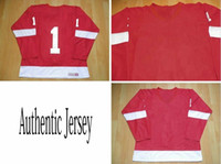 Wholesale Red Home Throwback Ice Hockey Winter Jerseys Detroit Authentic Sportswear Jersey Discoun Jerseys