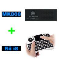 USB MK808 TV box android - Smart Google TV Box Android Dual Core Full HD IPTV MK808 G Rii Keyboard Touchpad Kit