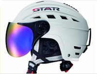 helmet - STAR Fashion helmet Belt ski mirror Ski helmet motorcycle motor helmet