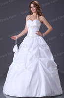 Wholesale Grace Karin Sexy Sweetheart Beaded Appliques Ball Gown Prom Graduation Dresses CL3109