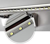 Wholesale DHL W fogproof stainless steel led mirror light led bathroom light led light