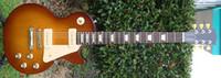 Solid Body 6 Strings Mahogany best Factory Mahogany guitar 60's Tribute Honeyburst Rare Darkback electric guitar OEM Available Che