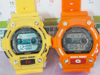 Wholesale Hot Luxury Men Digital Sport Watch SHOCKS LED Women Plastic Children Candy Best Mens Watches