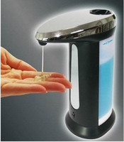 Disposable bamboo soap dispenser - Automatic Sensor Cream Sanitizer amp Soap Dispenser Handfree Touchless Factory Price