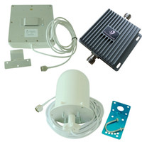 Wholesale 850 MHz GSM CDMA G Cell Phone Signal Booster Repeater Mobile Amplifier with high gain Antenna