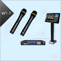 Wholesale Karaoke Machine System Jukebox TB HD Wired Microphones quot IR Touch Screen