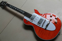 Wholesale Custom Shop Corvette orange metallic music electric guitar China Guitar