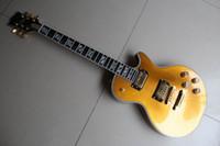 Solid Body gold top - Supreme Model ebony fingerboard fretside binding Electric Guitar gold top goldtop