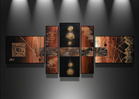 More Panel Oil Painting Fashion Modern Abstract Group Paitings Best Sale Group Oil Paintings Home Decorative Group Art Wall