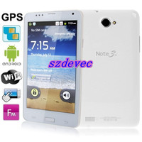 Wholesale A9220 White GPS AGPS Android Version inch Capacitive Touch Screen Mobile Phone