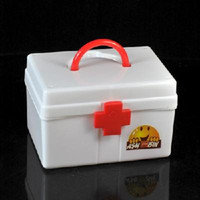 Wholesale Medication box first aid kit random color