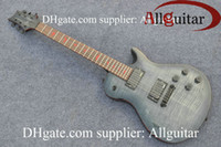 abalone guitar binding - custom Smith Private Stock Charcoal Burst electric guitar red Abalone Binding Body electric guitar