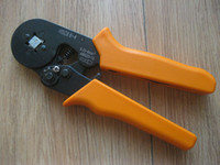 Wholesale 0 mm2 Orange Bootlace Ferrule Crimper Terminal Crimping Tool Pliers Wire End Cord lug