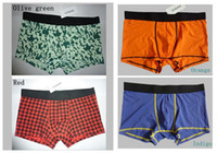 Wholesale HongKong original brand fashionable mens cotton blend brodfs boxers briefs Sexy Underpants Mens Underwear