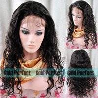 Wholesale Indian human hair lace Front wig deep wave Indian human bleached knots short wigs