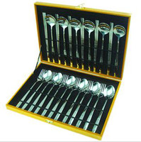 Wholesale Stainless steel Dinnerware Sets chopsticks fork spoon scoop